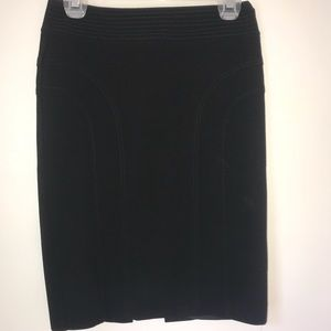 Dresses & Skirts - Black wool high waisted pencil skirt
